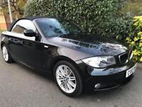 BMW 1 SERIES 118D M SPORT 2010 Diesel Automatic in Black