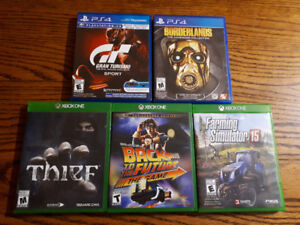 Xbox One & Ps4 games