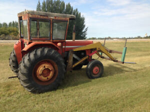 Massey Super 90 Tractor with loader