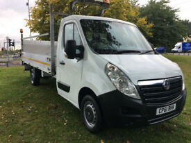 Vauxhall Movano drop side 14ft F3500 L3H1 CDTI
