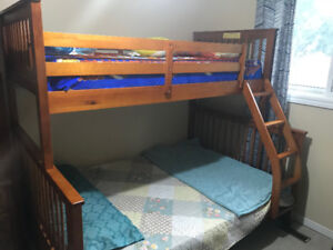 Bunk Bed - Single over Double