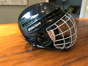Bauer IMS 5.0 Helmet Combo (Small) - like new