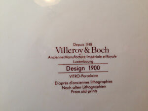 China - Villeroy and Boch Design 1900 Haute Couture discontinue
