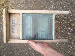 Antique Small Washboard