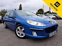 2005 PEUGEOT 407 2.0 SW SE HDI 5D 135 BHP! P/X WELCOME! FULL PAN-ROOF! SRVC HIST