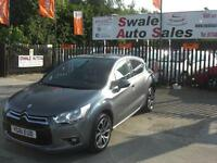 2011 CITROEN DS4 AIRDREAM DSTYLE EGS6 1.6L e-HDi AUTOMATIC, SERVICE HISTORY