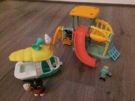 Bing Play Park and Gillys Ice Cream Van