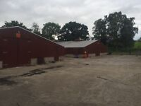 Storage Space for boats/cars/vintage cars/speed boats. Workshop space. Office.