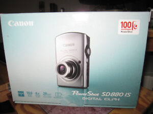 Canon Powershot SD880 IS  10.0 MP