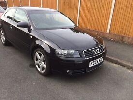 Audi A3 Black 2.0 tdi 2003,