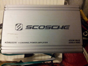 Scosche 50x4Watt RMS With Multiple Inputs