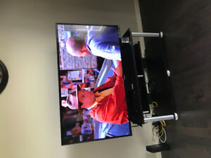 Nearly new tv stand for sale