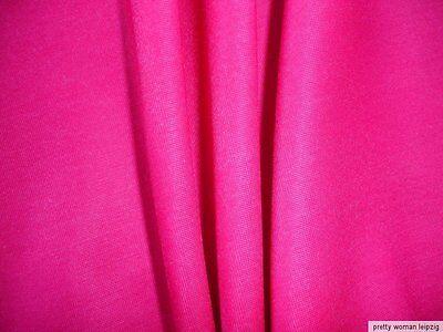 0,5 Lfm Jersey 3,15€/m² pink 190cm breit mit 21% Elasthan KB85