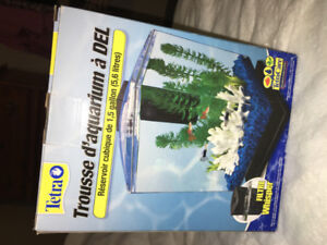 Tetra 1.5 Gallon Fish Tank with Accessories