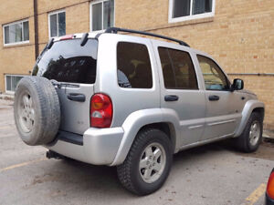 2003 Jeep Liberty Limited SUV, Crossover 4x4