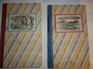 Alice in Wonderland / 1946 Two Book Edition