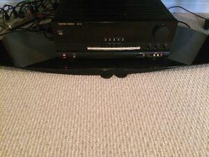 Hardon Karmon Receiver and Surround Sound Speaker System