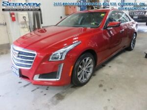 2016 Cadillac CTS Luxury AWD  - out of province - $248.81 B/W