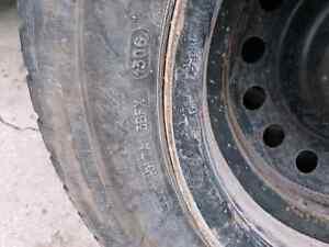 Michelin X-Ice winter tires set of 4 on rims Kitchener / Waterloo Kitchener Area image 4