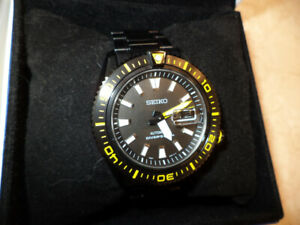 Seiko Stargate II Black Diver 200m Automatic Watch SRP499K1