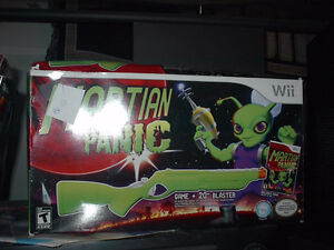 Martian Panic Excellent Wii Shooter Game in box new awesome!
