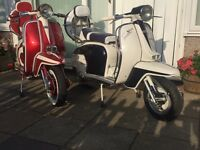 Lambretta and vespa