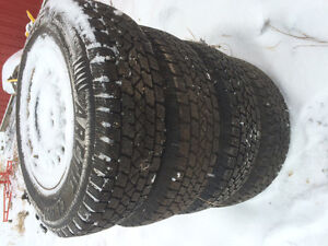 "14"" studed winter tires/rims"