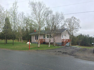 Well cared for home situated on 5 acres of land near Clarenville