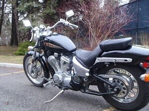 2000 Black Honda Shadow - Great conditon