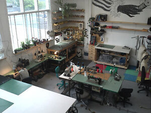 Workspace available in collective sewing studio, mid Aug or Sept