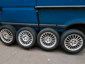 """16"""" inch Ford focus Alloy wheels with tyres"""