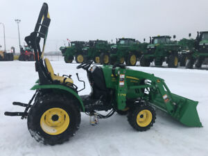2015 2025R Sub-Compact Utility Tractor