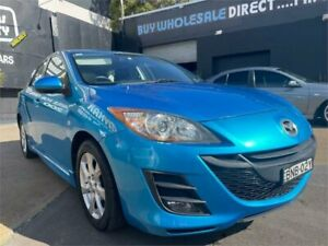 2009 Mazda 3 BL Maxx Sport Blue 5 Speed Automatic Hatchback Islington Newcastle Area Preview