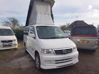 MAZDA BONGO LIFTING TOP, 2001, 2.0, 65,953 MILES, AUTOMATIC IN WHITE