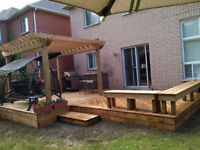 Competitive Prices No Deposit And Warranty! Decks Fence Pergola