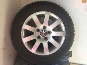 Extreme Winter Claw tires on alloy rims