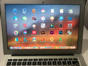 "Macbook Air 2014 13"" i5 1.4GHZ 4GB 128GB M. Office&Adobe Photosh"