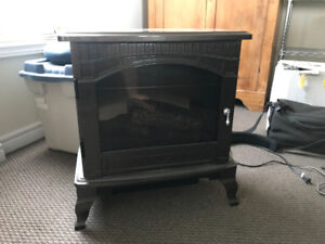 Electric Woodstove Fireplace
