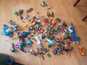 Gen 1 Transformers in various states of repair and more