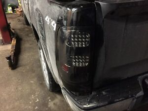 New led tail lights 2011 GMC