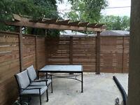 Wood Fences / Post Hole Drilling