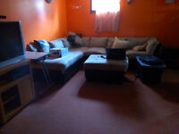 Furnished room in family home
