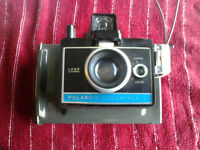 Vintage Polaroid Colorpack II Land Camera, variable focus, strap