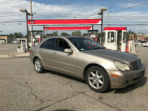 2003 Mercedes-Benz C-Class 3.2L Sedan 4MATIC
