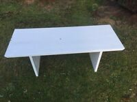 SOLID WOODEN PAINTED COFFEE TABLE REDUCED
