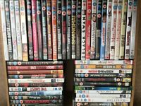 50 DVDs some new, rest in pro stone condition