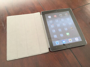 Apple iPad2 64gb with Case and Screen Protector- Very Nice Cond