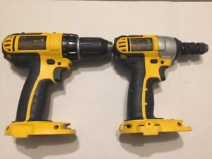 DEWALT 14.4V DRILL DRIVER & IMPACT WRENCH (TOOL ONLY)