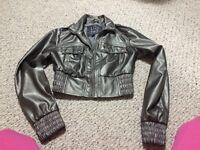 Fashion coat wub jeans