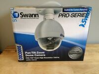 BRAND NEW Swann Pan-Tilt-Zoom Dome CCTV Camera Pro 750 Cam PTZ Super Hi Resolution